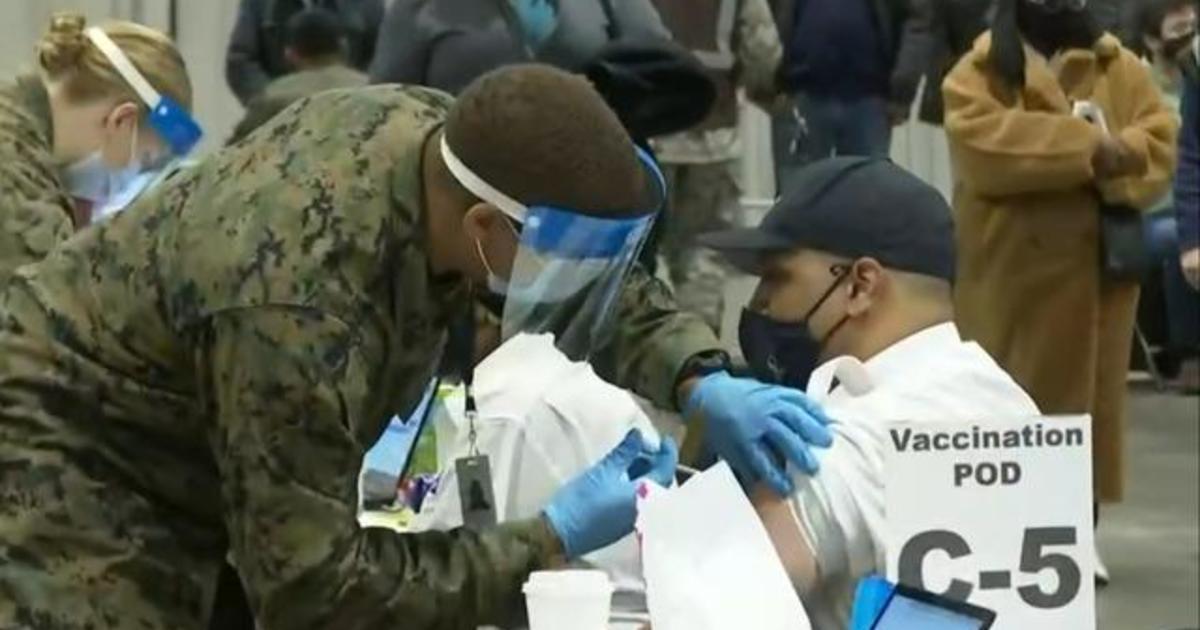 FEMA opens community coronavirus vaccination centers 1