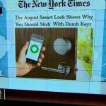 Headlines at 8:30: Smart Lock opens home doors with smartphone 5