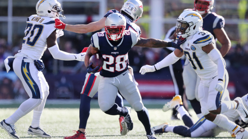Patriots re-sign RB James White to 1-year deal 1