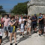 Mexico complains of mask-less tourists, closes ruin site 5