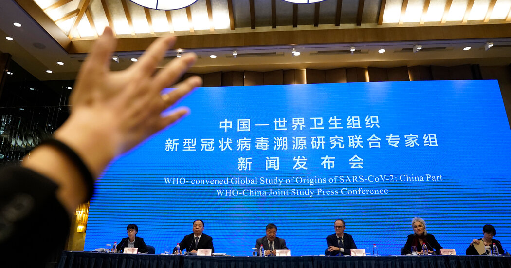 Coronavirus Origins Remain Unclear in W.H.O.-China Inquiry 1