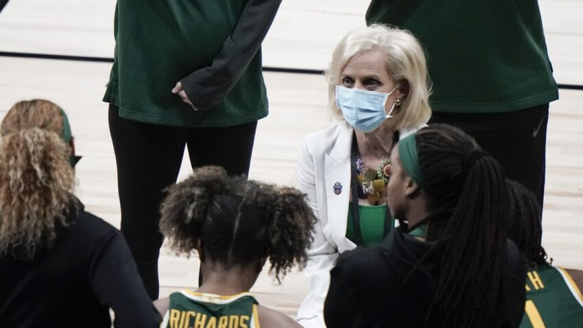 Baylor coach Kim Mulkey calls for end of COVID-19 testing at NCAA tournaments 1