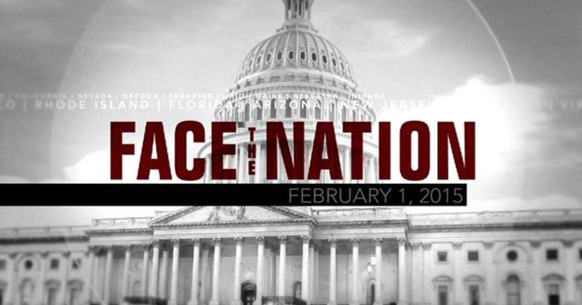 Open: This is Face the Nation, February 1 1