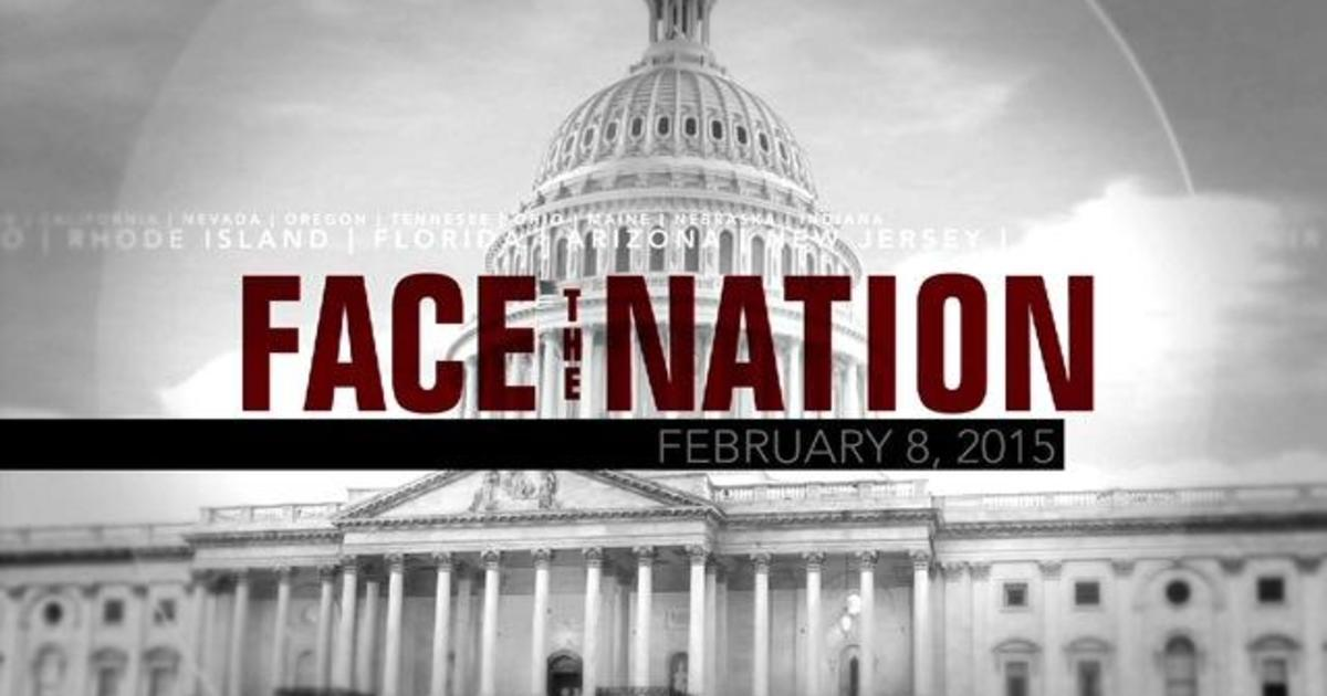 Open: This is Face the Nation, February 8 1