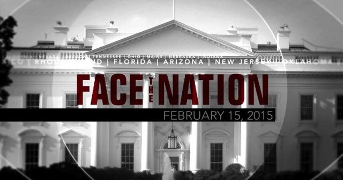 Open: This is Face the Nation, February 15 1
