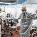 Overstretched health workers describe battling Brazil's worst Covid-19 wave yet 6