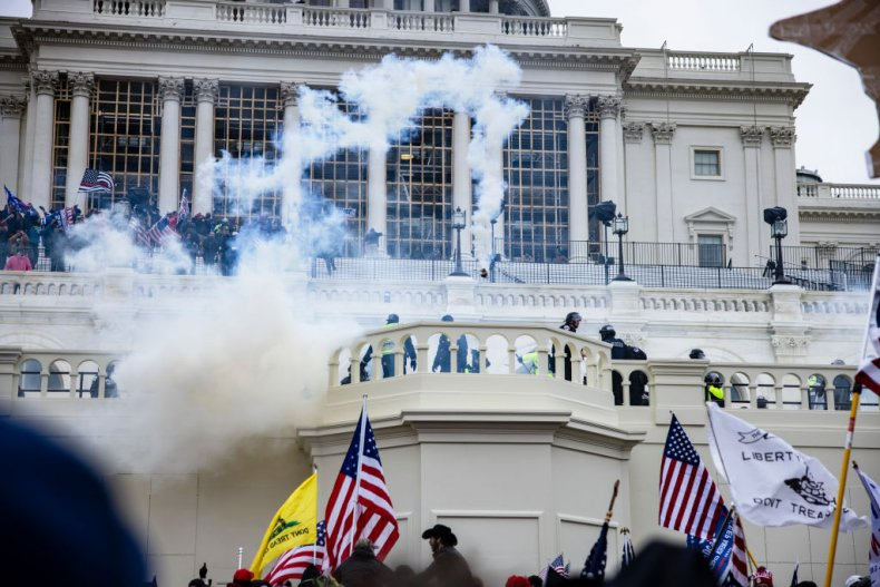 Dillan Homol, Man Who Livestreamed Capitol Riot, Charged as Former Classmates Tip off FBI 1