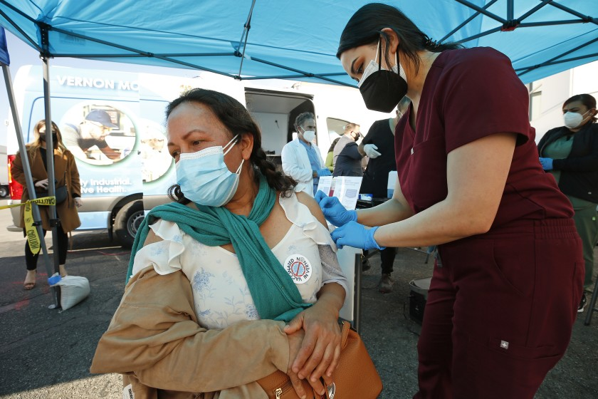 California still lags many states in COVID-19 vaccinations. When will that change? 1