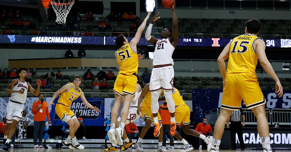 Top-seeded Illinois cruises past Drexel to open NCAA Tournament 1
