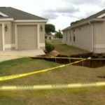 Giant sinkhole opens up between two Orlando homes 3