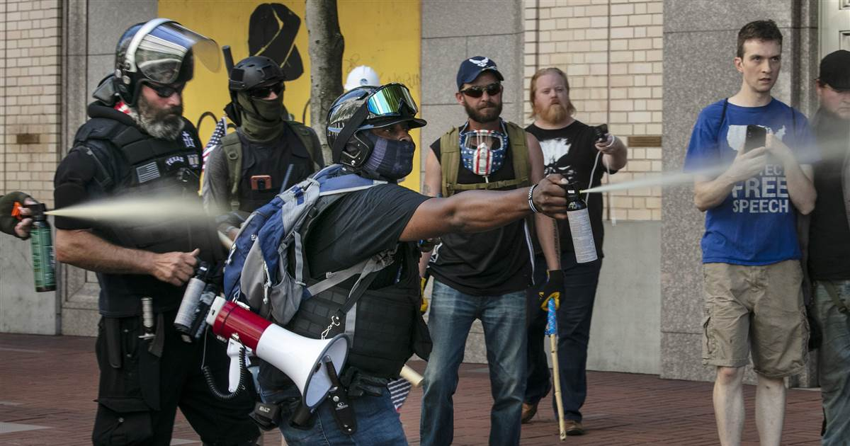 Unbearable pain: How bear spray became a prized weapon for violent protesters 1