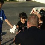 Quick-thinking officer saves young Calif. girl 6