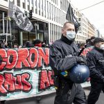 Germany: police clash with protesters against virus measures 7
