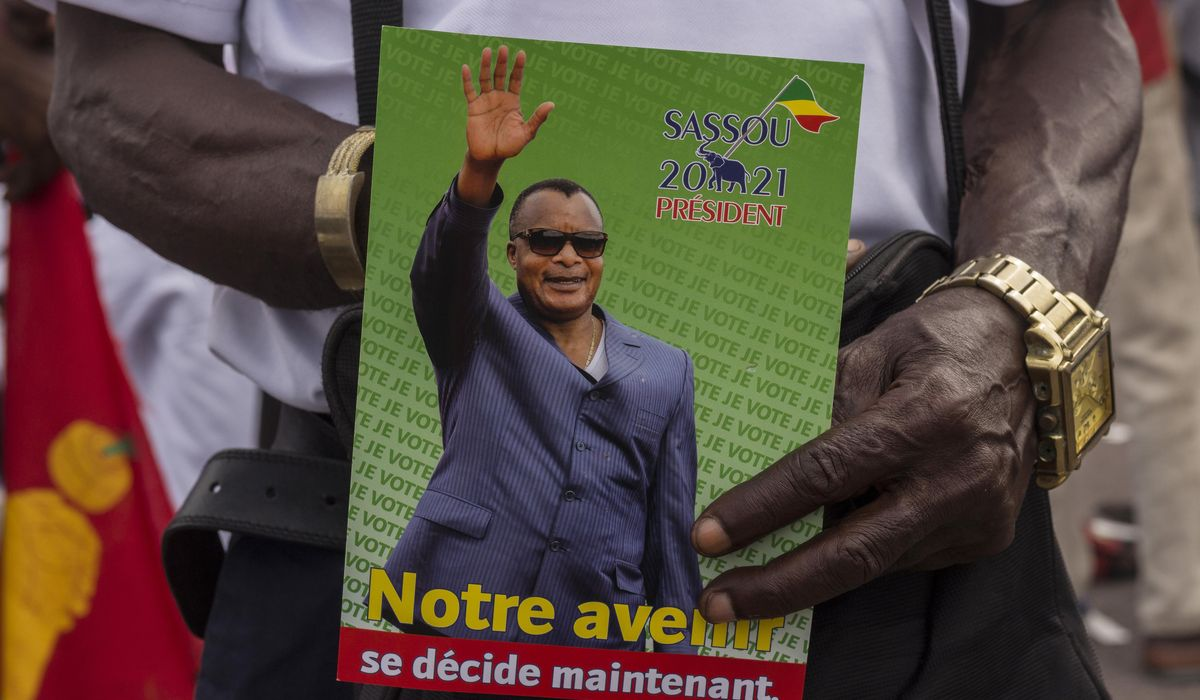 Republic of Congo candidate hospitalized with COVID-19 1