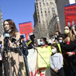 More than 300 NYC marchers rally to protest Cuomo, push for progressive policies 5