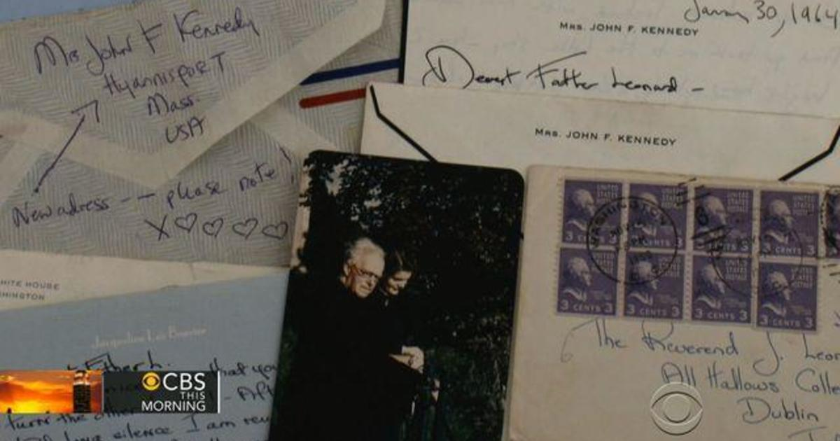 In letters to Irish priest, Jackie Kennedy opens up about JFK's temptations and her faith 1