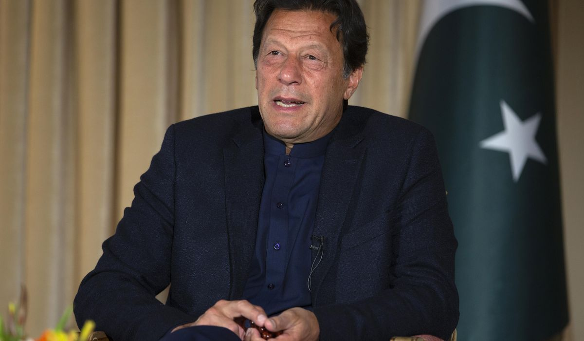 Pakistan Prime Minister Khan tests positive for coronavirus 1