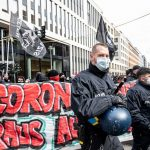 Germany: police clash with protesters against virus measures 6