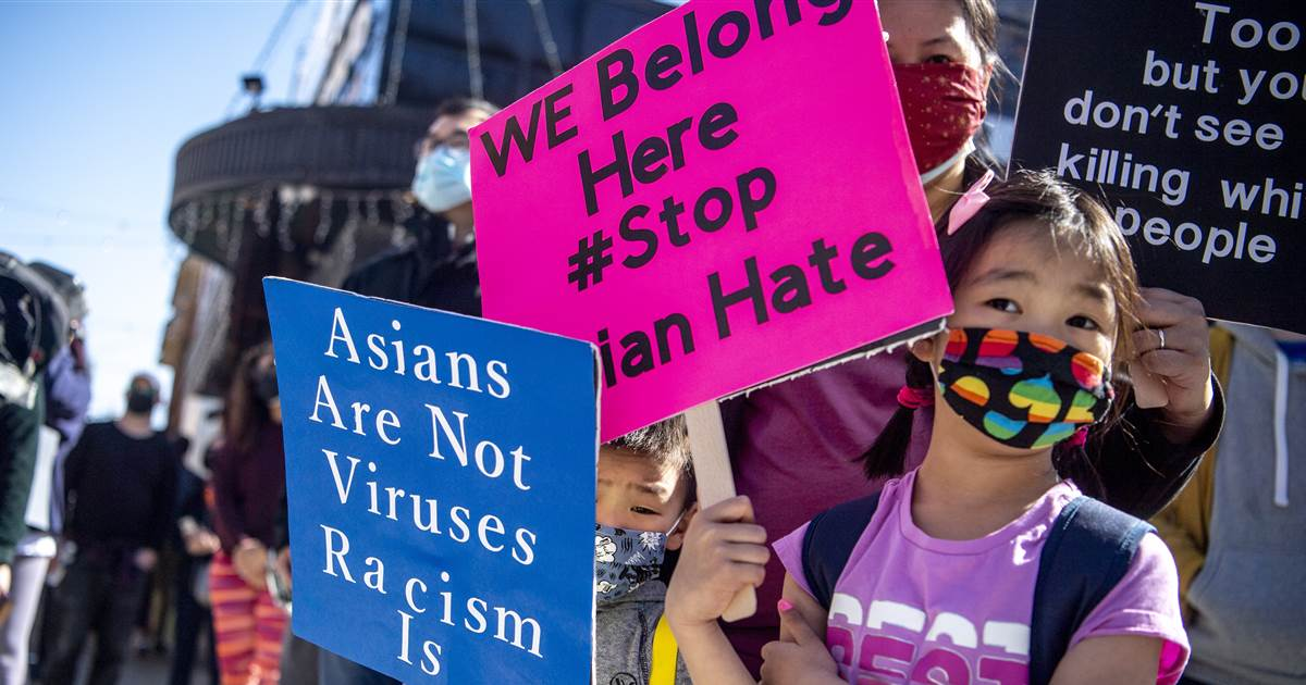 Rallies across U.S. protest anti-Asian hate after deadly spa shootings 1