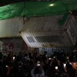 Thai police use tear gas and rubber bullets to break up protesters 4