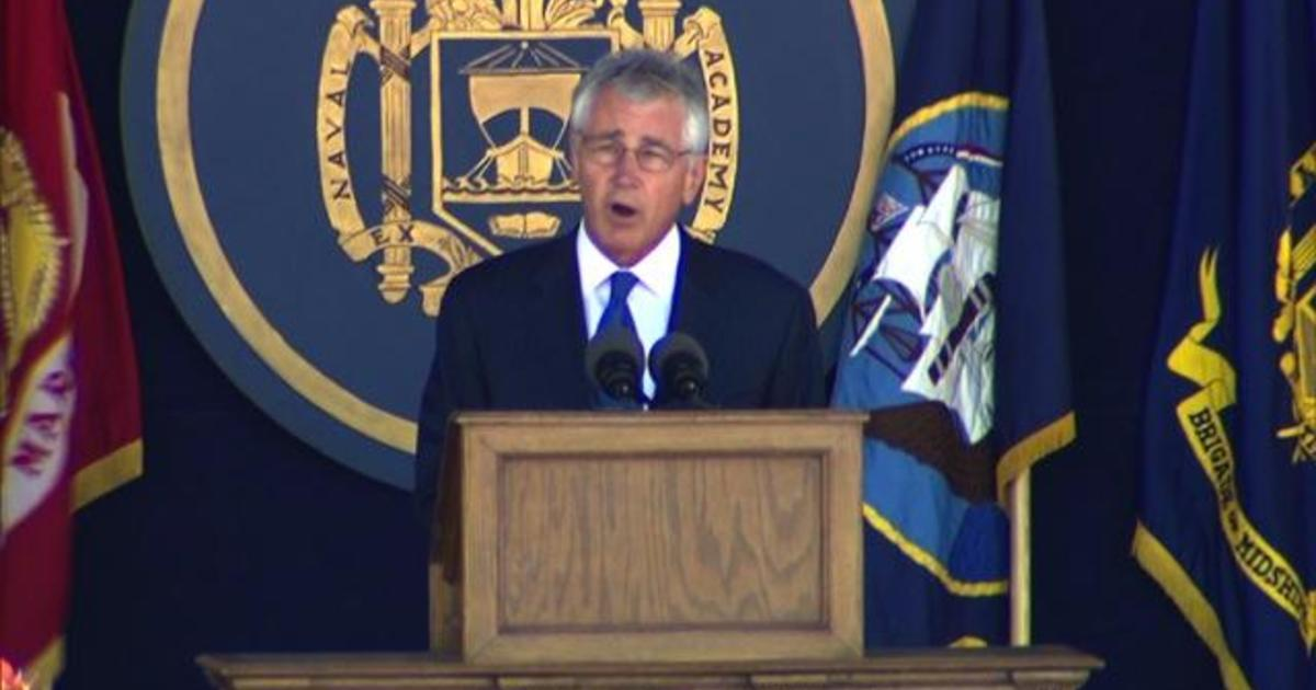 Chuck Hagel: New officers must lead fight against military sexual assault 1