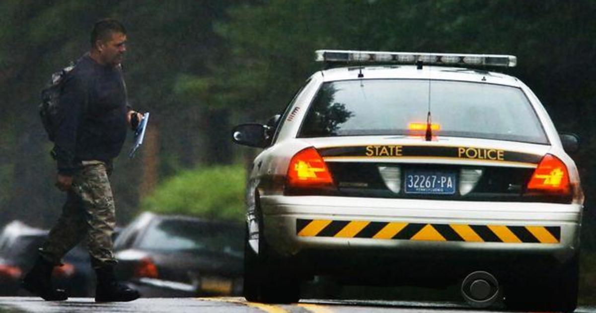 Manhunt intensifies for gunman who opened fire on Pa. state troopers 1