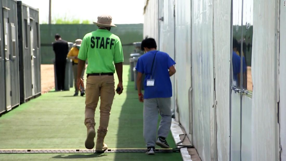 Biden to open Texas military sites to house migrant children 1