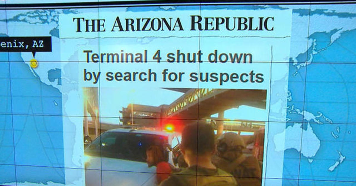 Headlines at 7:30: Arizona airport reopens after 3-hour lockdown 1