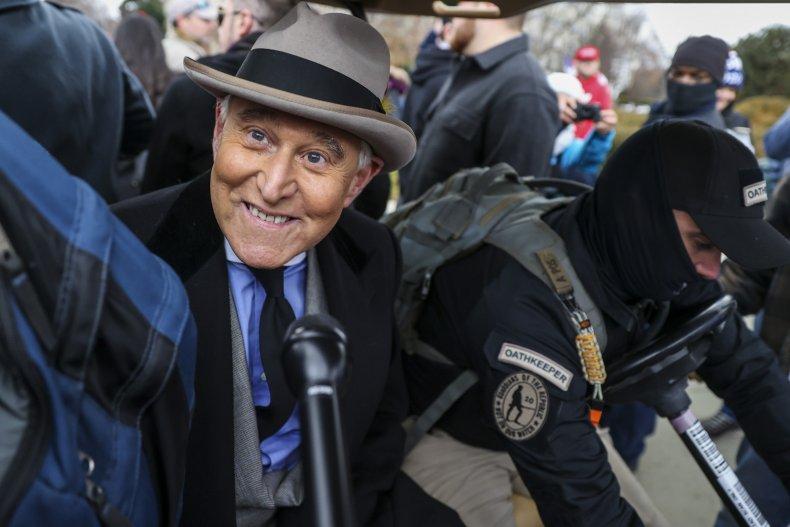 Alex Jones Urged Roger Stone to Go To Washington Protest, Financed Flights 1