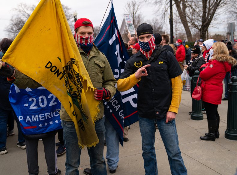 Oregon Proud Boy and His Brother Charged Over January 6 Capitol Riot 1