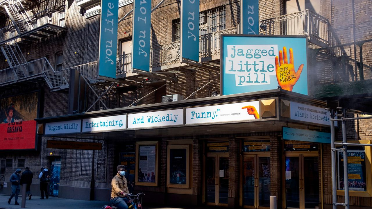 Broadway theater district could reopen by September, Mayor Bill de Blasio says 1