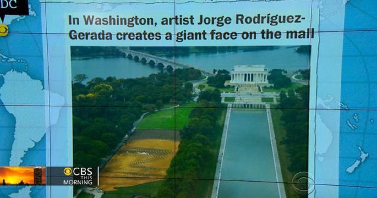 Headlines at 8:30: Landscape portrait project on National Mall opens Saturday 1