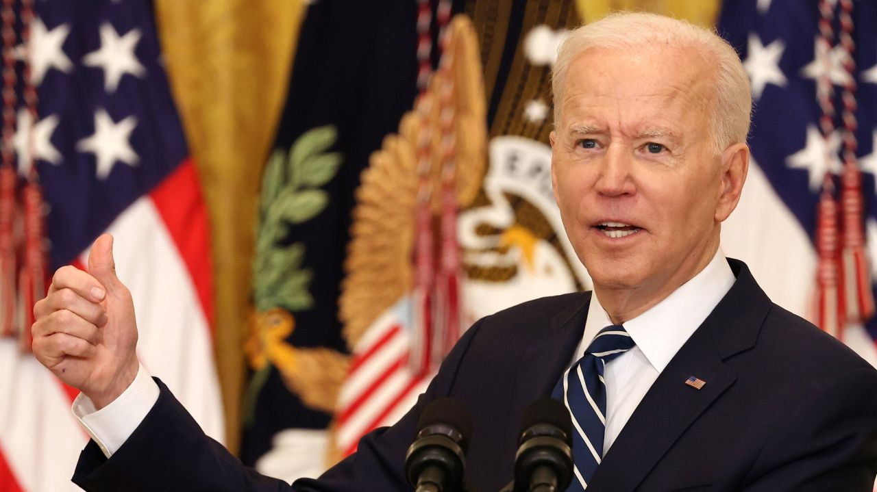Biden sets a new vaccination goal of 200M by his 100th day in office 1