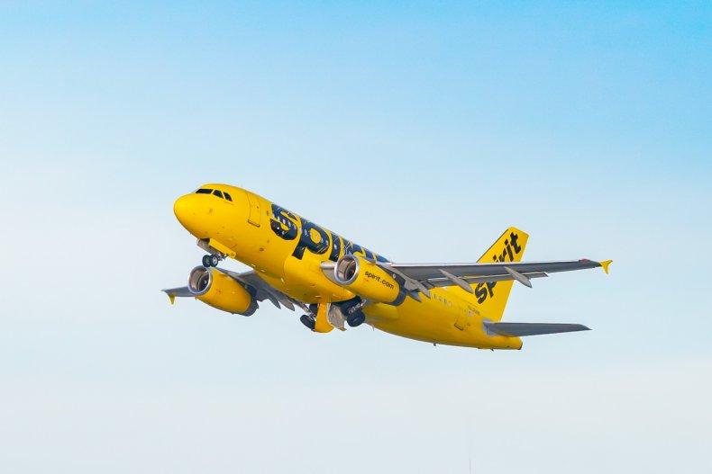 Spirit Airlines Passenger Attempts to Open Emergency Door Mid-Flight, Grounds Plane 1