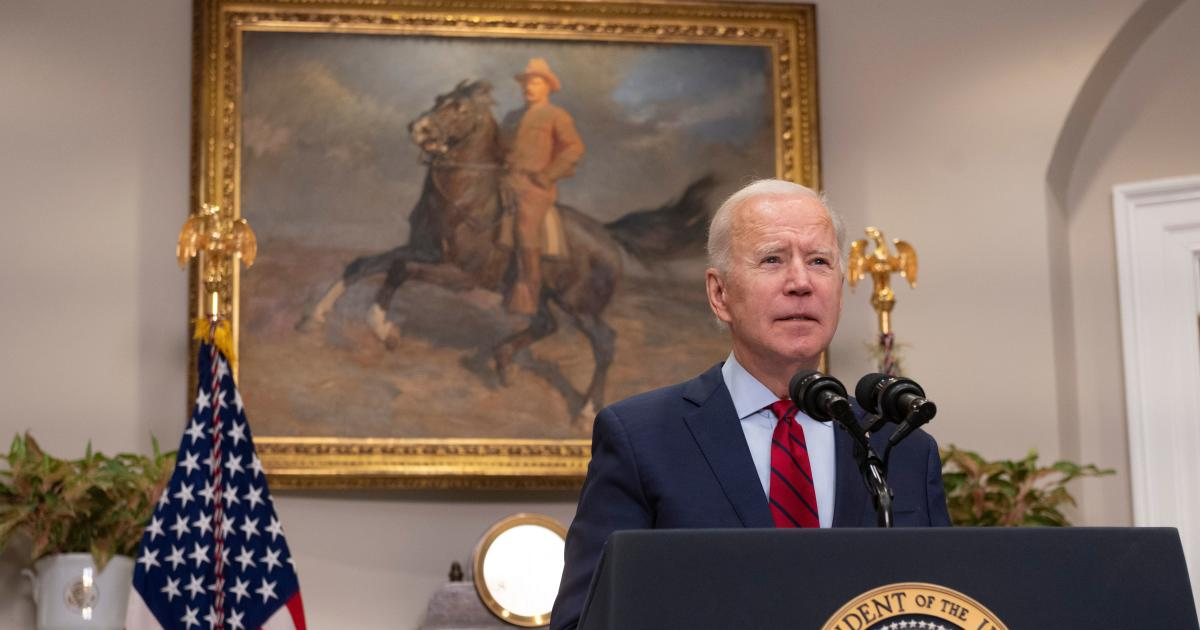 Watch Live: Biden makes remarks on COVID-19 pandemic 1