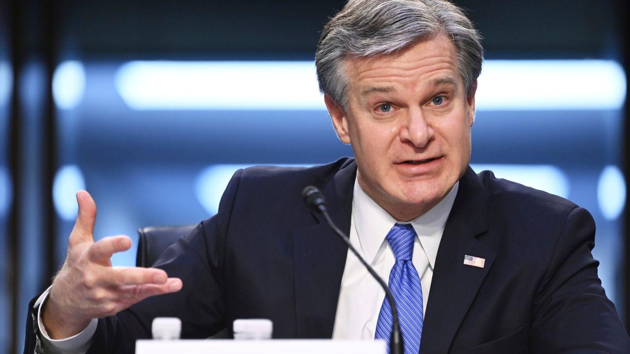 FBI chief calls Capitol riot 'domestic terrorism,' defends intel 1