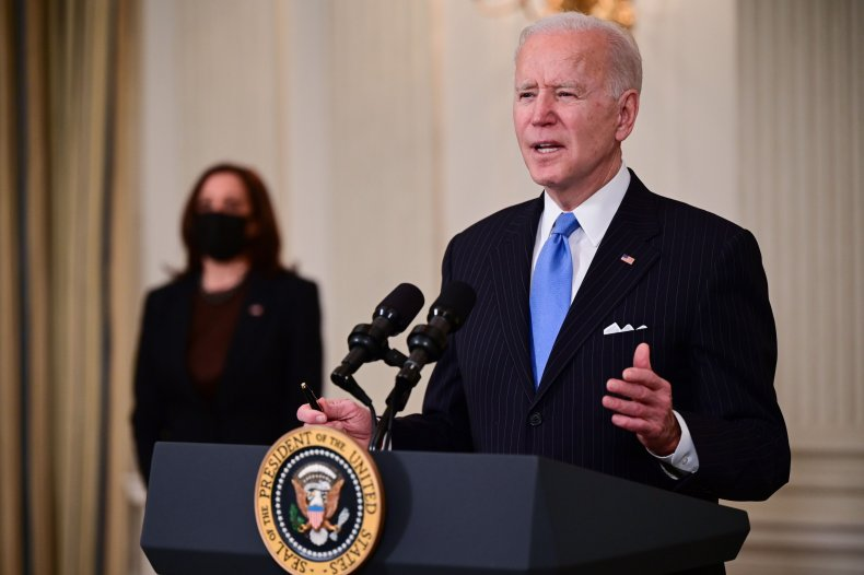 Biden Says U.S. Will Have Enough COVID-19 Vaccine for Every Adult by End of May 1