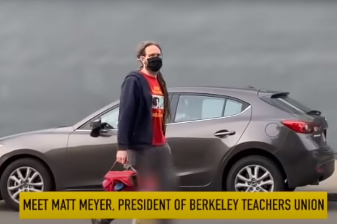 BUSTED: Berkeley Teachers' Union Boss Matt Meyer Caught On Camera Taking His Child to Private School While He Keeps Public Schools Closed 1