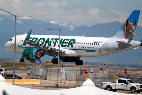Frontier Cancels Flight, Citing Maskless Passengers 1