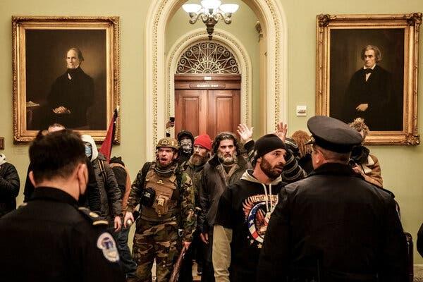 Far-Right Groups Are Splintering in Wake of the Capitol Riot 1