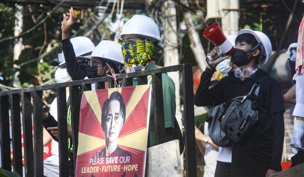 Myanmar protesters return to streets as crackdown continues 1