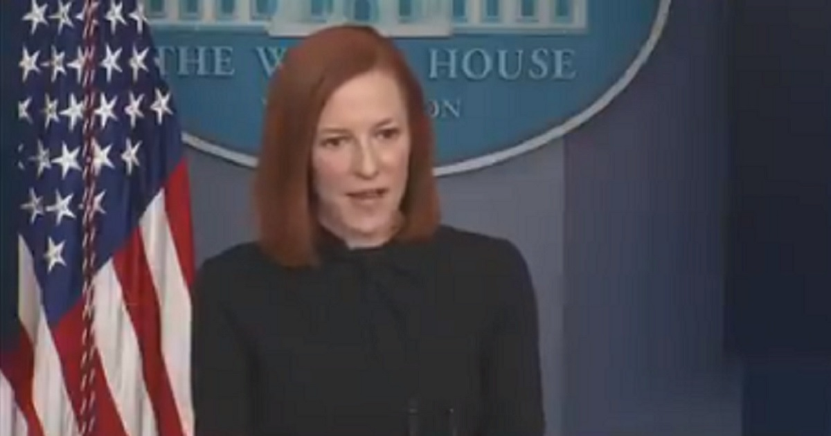 Biden's Press Sec Jen Psaki Says There's No Plan for Biden to Hold a Press Conference Even Though He's Been in Office a Month 1