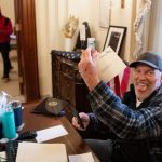 Richard Barnett, Capitol Rioter Who Put Feet Up on Pelosi's Desk, Calls Incarceration 'Not Fair' 2