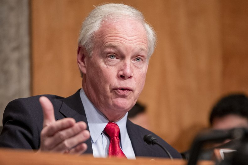 Ron Johnson Defends Pushing 'Flawed' Capitol Theory 'Fake Trump Supporters' Behind Riot 1