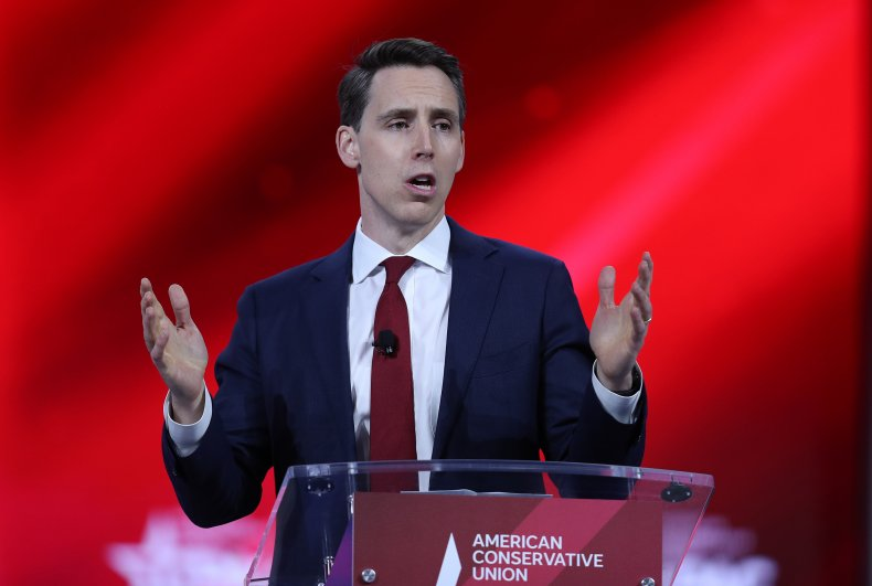Josh Hawley, Under Fire for Obstruction and Capitol Riot, Fails to Win Over CPAC 1