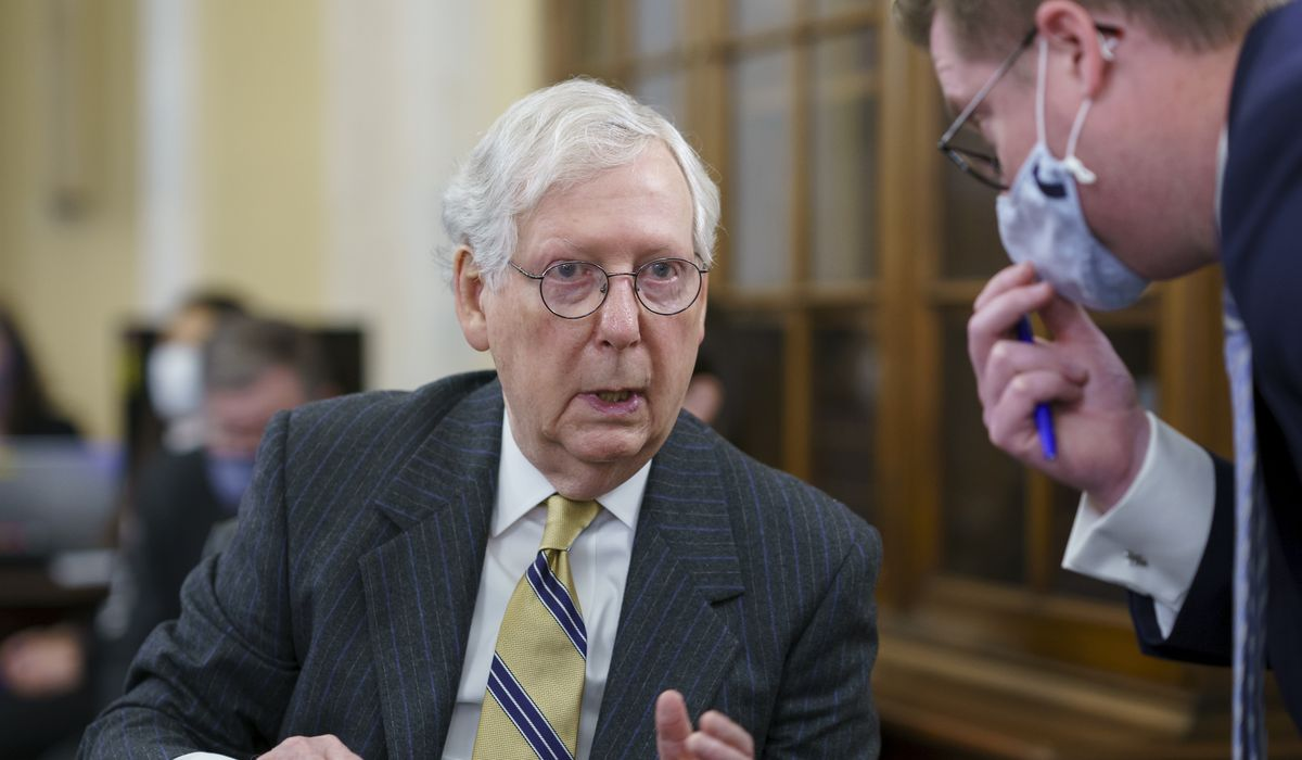 Mitch McConnell pushes Republican men to get COVID-19 vaccine 1
