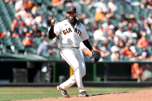 Johnny Cueto turns in a masterpiece, Brandon Crawford delivers the big hit in SF Giants' home opener win 1