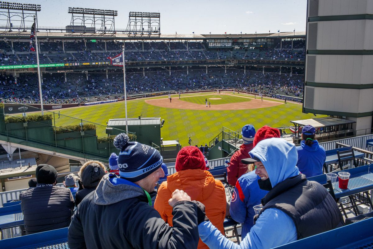 Baseball is back at Wrigley Field for opening day 1