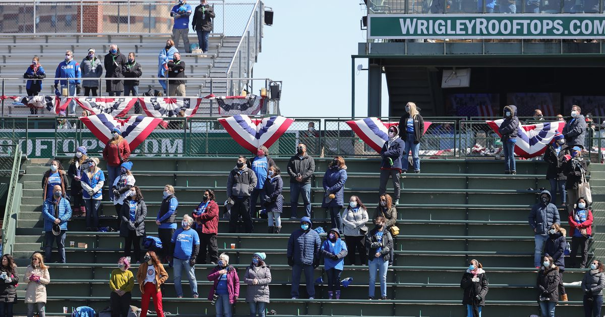 Cubs' Opening Day at Wrigley: Still so many empty seats, still kind of an empty feeling 1