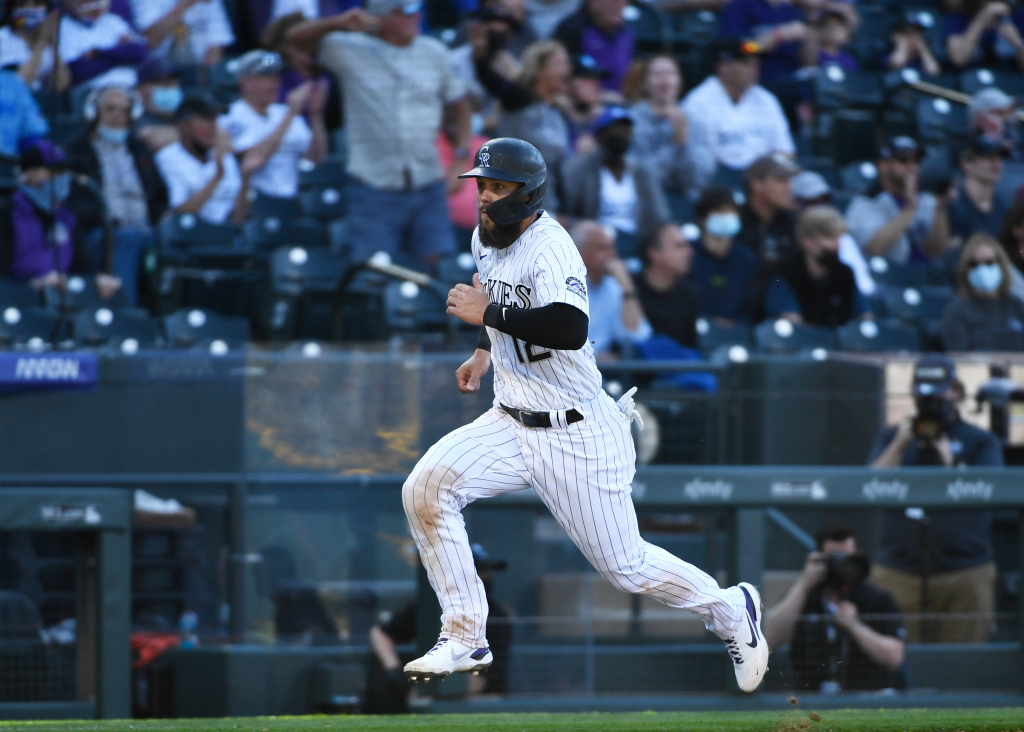 Chris Owings, getting opening day start, helps propel Rockies to win over Dodgers 1